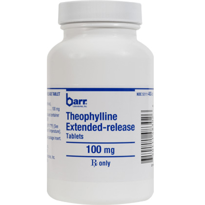 Theophylline ER (Click for Larger Image)