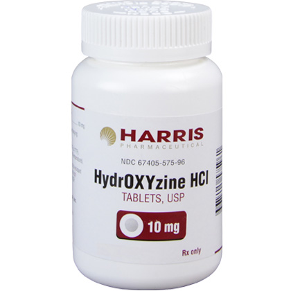 Hydroxyzine HCl (Click for Larger Image)