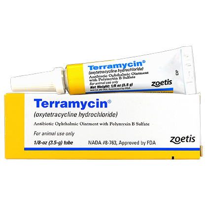 Terramycin Ophthalmic Ointment (Click for Larger Image)