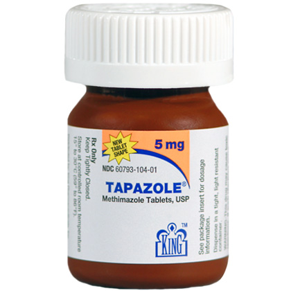 Tapazole (Click for Larger Image)