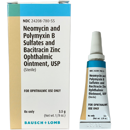 B.N.P. Triple Antibiotic Ophthalmic Ointment (Click for Larger Image)