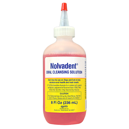 Nolvadent Oral Cleansing Solution (Click for Larger Image)