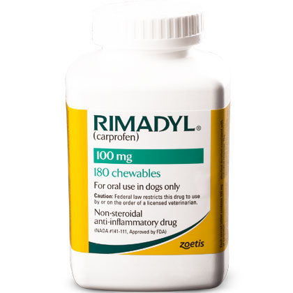 Rimadyl 100 mg Chewables 180 ct by PFIZER ANIMAL HEALTH