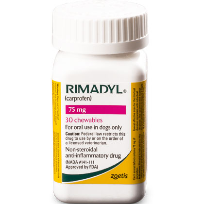 Rimadyl 75 mg Chewables 30 ct