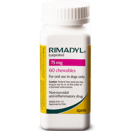 Rimadyl 75 mg Chewables 60 ct by PFIZER ANIMAL HEALTH