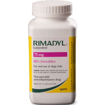 Rimadyl 75 mg Chewables 180 ct