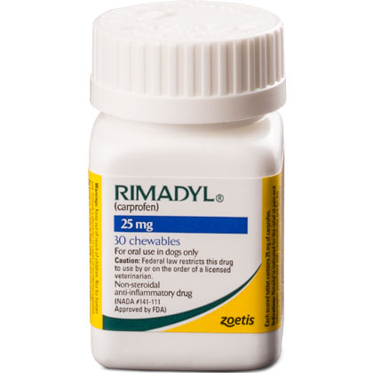 Rimadyl 25 mg Chewables 30 ct