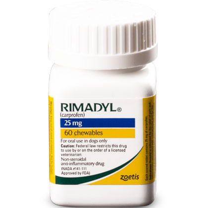 Rimadyl 25 mg Chewables 60 ct