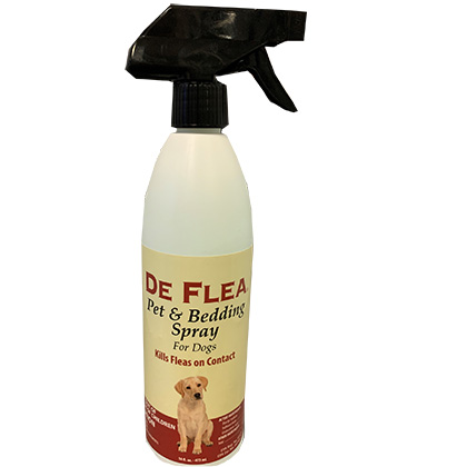 Natural Chemistry De Flea Pet & Bedding Spray (Click for Larger Image)