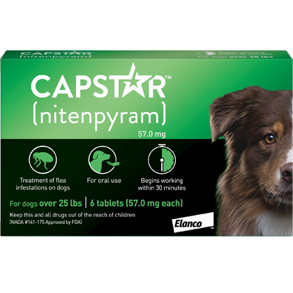 Capstar 26-125lbs 6 Tablet Pack