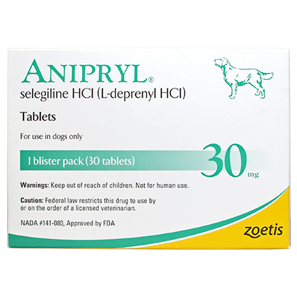 Anipryl (Selegiline) (Click for Larger Image)