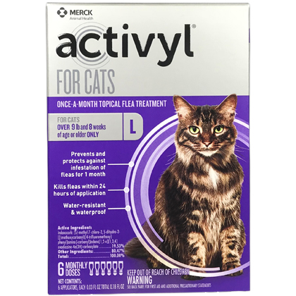 Activyl 12pk Cats Over 9 lbs by MERIAL