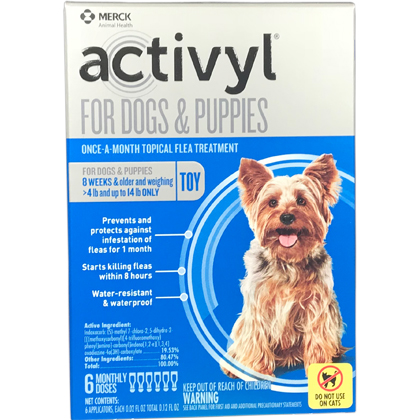 Activyl 12pk Dogs 4-14 lbs by MERIAL