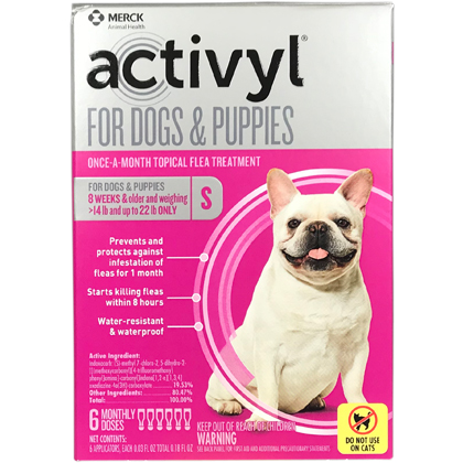 Activyl 12pk Dogs 15-22 lbs by MERIAL