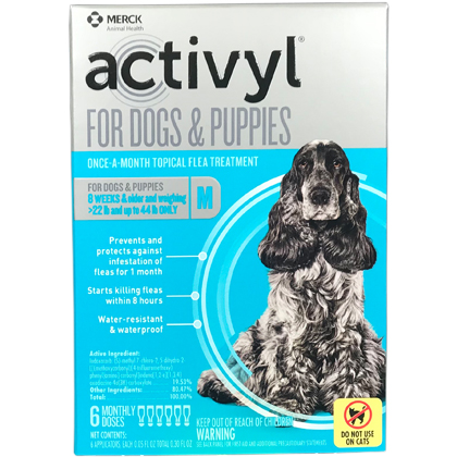 Activyl 12pk Dogs 23-44 lbs by MERIAL