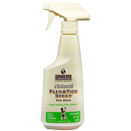 Natural Chemistry Natural Flea & Tick Spray for Dogs (Click for Larger Image)