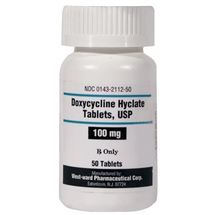doxycycline hyclate 100mg uses