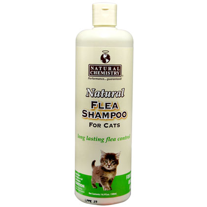 Natural Chemistry Natural Flea Shampoo for Cats (Click for Larger Image)