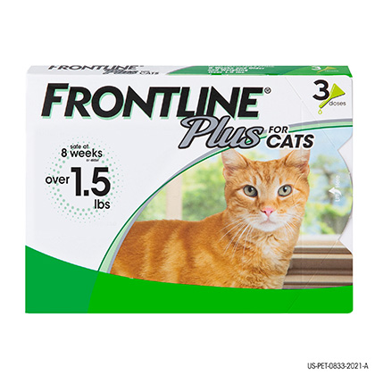 Frontline Plus 3pk Cats & Kittens