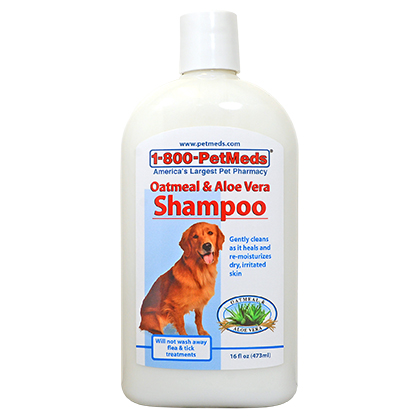 Oatmeal & Aloe Vera Shampoo (Click for Larger Image)