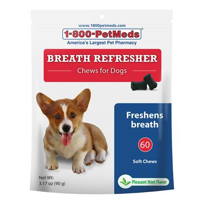 Breath Refresher  Chews for Dogs (Click for Larger Image)