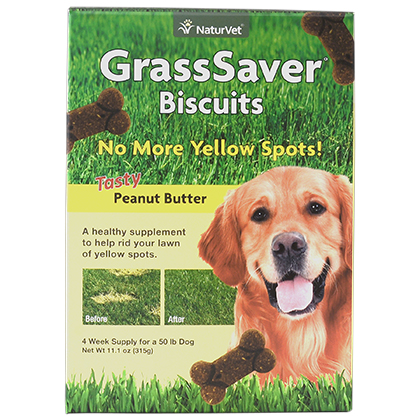 NaturVet GrassSaver Dog Biscuits (Click for Larger Image)