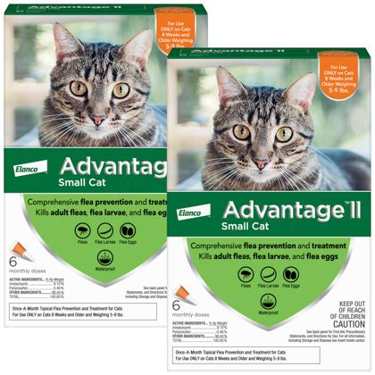 Advantage II 12pk Cat 5-9 lbs by BAYER