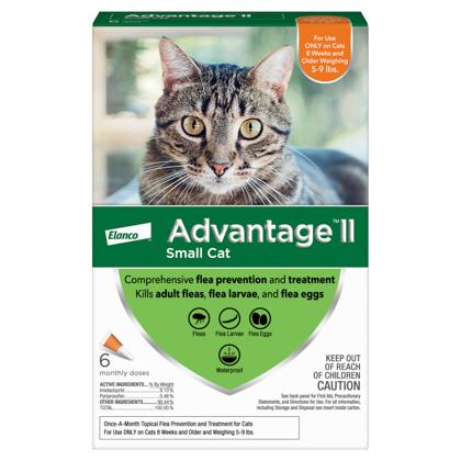 Advantage II 6pk Cat 5-9 lbs