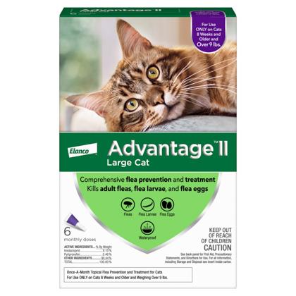 Advantage II 6pk Cat Over 9 lbs