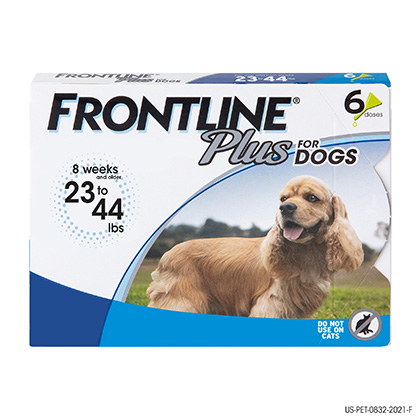 Frontline Plus Value 6pk Dogs 23-44lbs