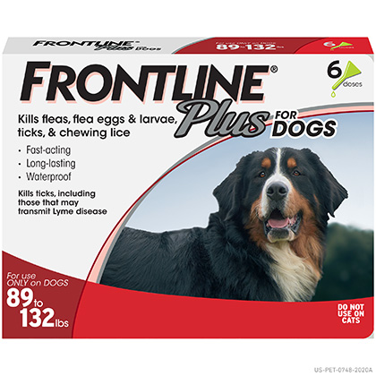 Frontline Plus For Dogs Cats 100 Satisfaction Guaranteed 1800petmeds