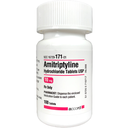 Amitriptyline HCl (Click for Larger Image)