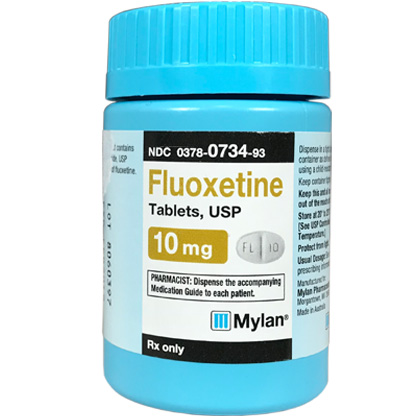 Fluoxetine 10 mg (sold per tablet)