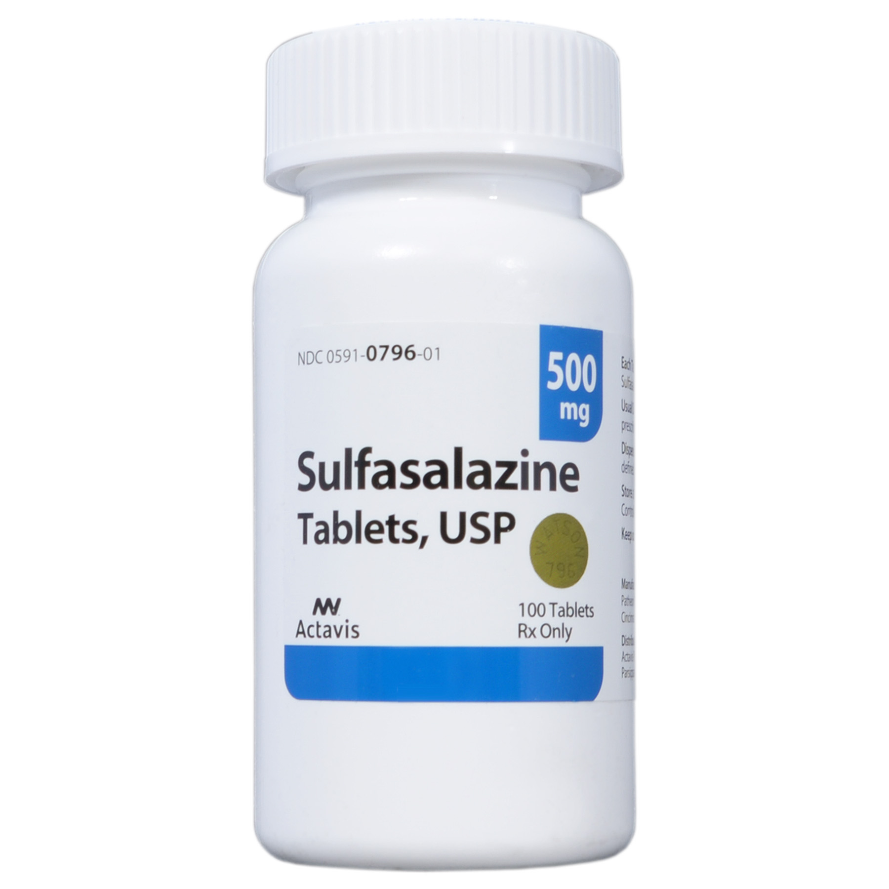Sulfasalazine (Click for Larger Image)