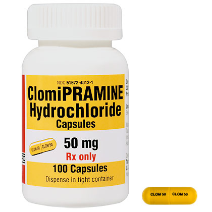 Clomipramine (Click for Larger Image)