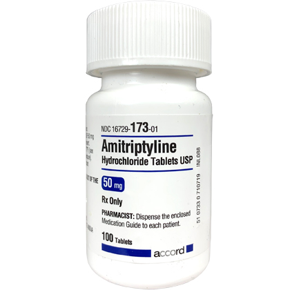 Amitriptyline for anxiety