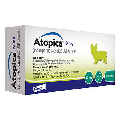Atopica 10mg 15 Capsule Pack