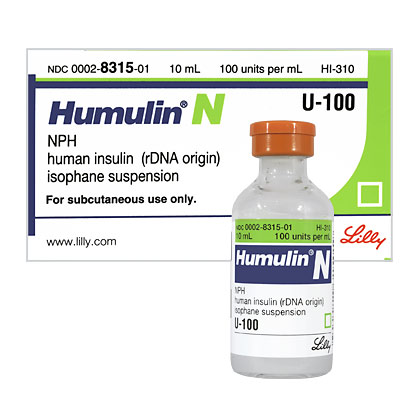 Humulin N Insulin for Dogs and Cats - 1800PetMeds