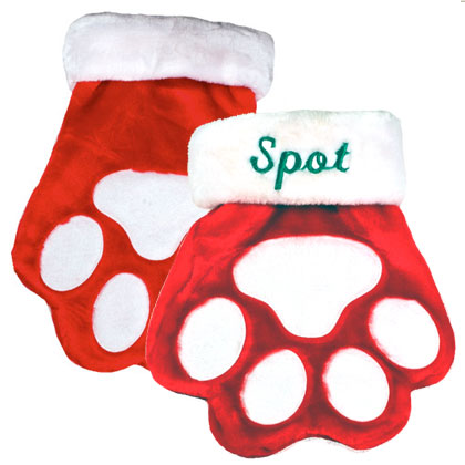 Paw Stocking (Click for Larger Image)
