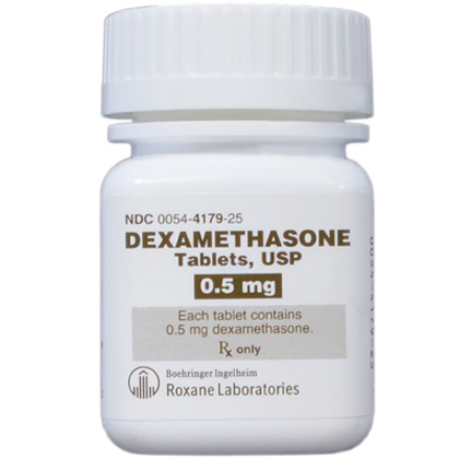 Dexamethasone Tablets (Click for Larger Image)