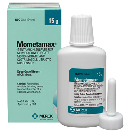 Mometamax Otic Suspension (Click for Larger Image)