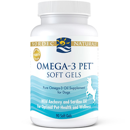 Nordic Naturals Omega-3 Pet (Click for Larger Image)