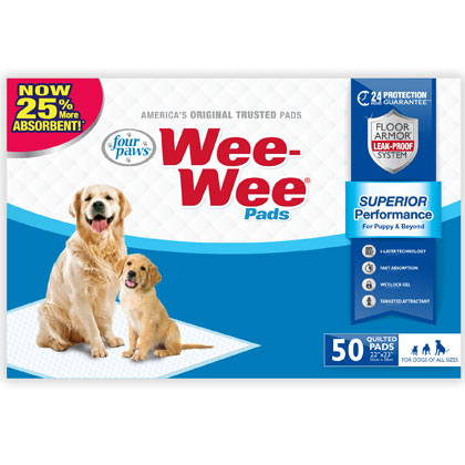 Wee-Wee Pads (Click for Larger Image)