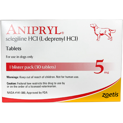 Anipryl (Selegiline) 5 mg 30 Tablet Pack