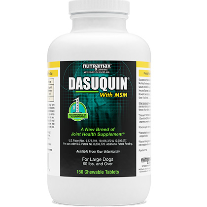 Dasuquin with MSM for Dogs Over 60 lbs 150 ct