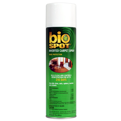 Bio Spot Inverted Carpet Spray (Click for Larger Image)
