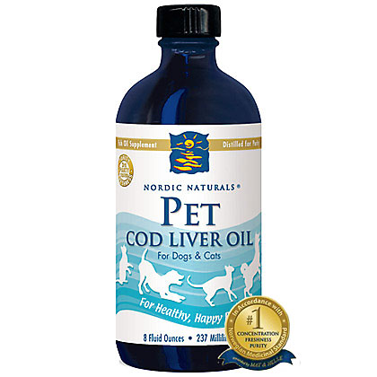 Nordic Naturals Pet Cod Liver Oil (Click for Larger Image)