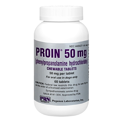 Proin 50mg Chewable Flavor Tabs (phenylpropanolamine) 60ct btl