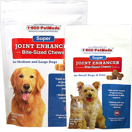 Super Joint Enhancer Bite-Sized Chews (Click for Larger Image)