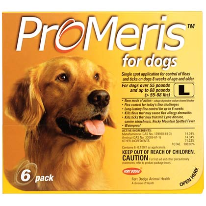 ProMeris For Dogs (Click for Larger Image)
